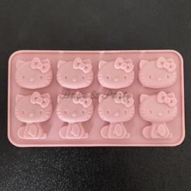 """Siliconen Mal """"Hello Kitty"""" (2)"""
