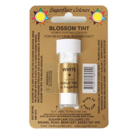 Sugarflair - Edible Dusting Colour Blossom Tint - White