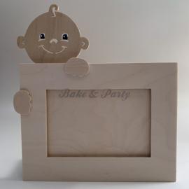 Fotolijst Baby Hout (handgemaakt)