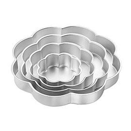 Wilton - Performance Petal Pan Set (4 stuks)