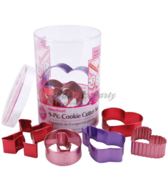 Wilton - Cookie Cutter Set - Sweethearts (9 stuks)