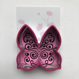 Blossom Sugar Art - Cutter & Stamp Butterfly