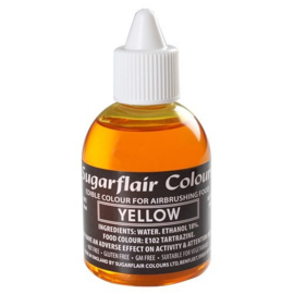 Sugarflair - Edible Airbrush Colouring - Yellow