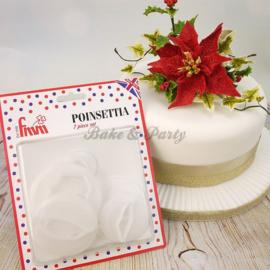 FMM  - Poinsettia Cutter Set (7 stuks)
