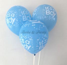 """Latex Ballonnen """"It's A Boy"""""""