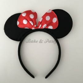 "Diadeem ""Minnie Mouse"" (Rode Strik)"