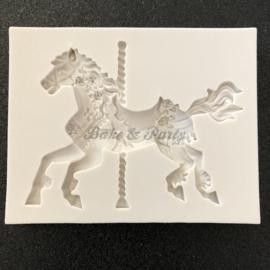 "Siliconen Mal ""Caroussel Paard"""