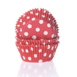 House Of Marie - Polkadot Red