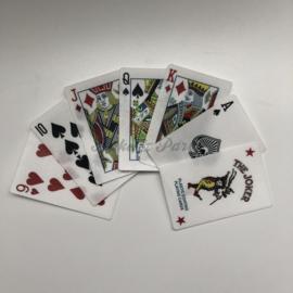 Eetbare Speelkaarten (7 stuks)