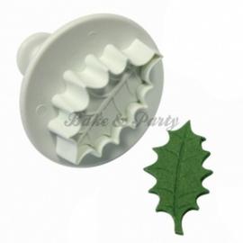 Plunger - PME  Veined Holly Leaf Large