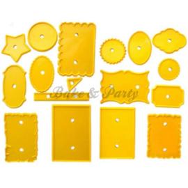 JEM - JEM 4 Plaque Cutters Set (17 stuks)