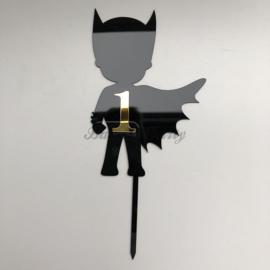 "Taart Topper Acryl ""Batman"" (3)"