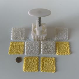 """Cookie Press / Plunger """"Design Diversen (3)"""""""