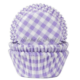 House Of Marie - Gingham Lilac