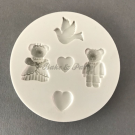 "Alphabet Moulds ""Wedding"" (AM011)"