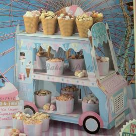 Cupcake/IJsjes standaard - IJswagen