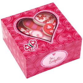 Wilton Treat Box Valentine (3 stuks) - 15,8 x 15,8 x 7,6 cm