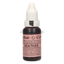 Sugarflair - Edible Droplet Paint - Heather