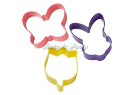 Wilton - Cookie Cutters Set - Easter Colored (3 stuks)