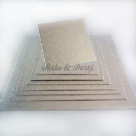 Funcakes Cake Board Vierkant (4mm dik) 10 x 10 cm