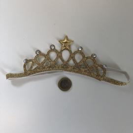 """Haarband """"Kroon"""" (Goud)"""