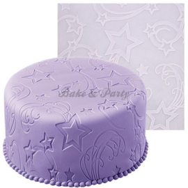 Wilton - Fondant Imprint Mat - Star Power