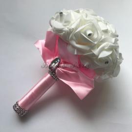 Bruidsboeket (1) Roze