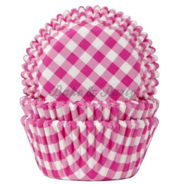 House Of Marie - Gingham Fuchsia
