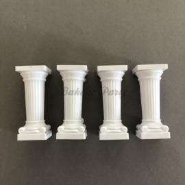 Taartpilaren Grieks Design 7,5 cm hoog