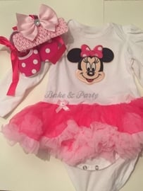 "Rompertje ""Minnie Mouse"" (Baby)"