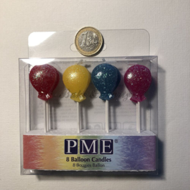 "Kaarsjes PME ""Balloon Candles"""