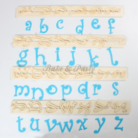 FMM  - Alphabet Tappits Lower Case Funky (4 stuks)