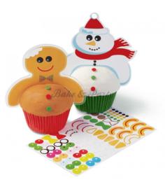 Wilton Fun Pix - Christmas Cupcake Costumes