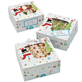 Wilton Woodland Friends Cookie Box Kit  (3 stuks) - 15,8 x 15,8 x 7,6 cm