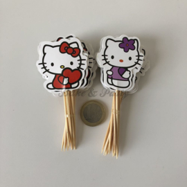 "Cupcake Toppers ""Hello Kitty"" (2)"