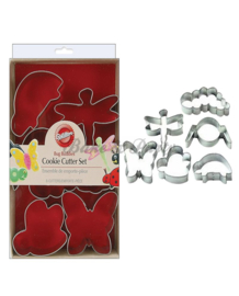 Wilton - Cookie Cutter Set - Bug Buddies (6 stuks)