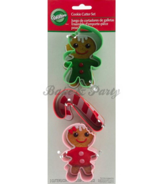 Wilton - Cookie Cutters Set - Frosted Fun (3 stuks)