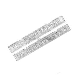 Windsor Craft Ltd - Clikstix Alphabet Lower Case Groovy