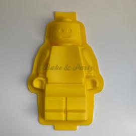 Siliconen Bakvorm Lego Pop