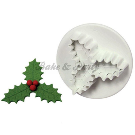 Plunger - PME  Three Leaf Holly Small