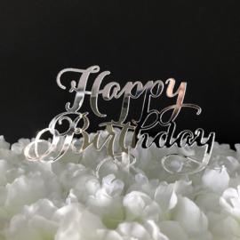 "Taart Topper Acryl ""Happy Birthday"" (5)"