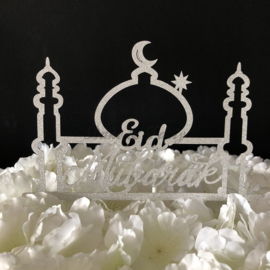 "Taart Topper Carton ""Eid Mubarak"""