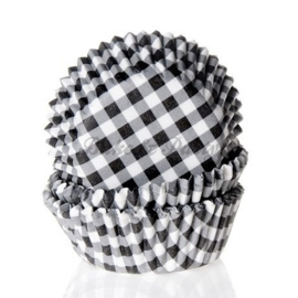 House Of Marie - Gingham Black
