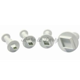 Plunger - PME  Diamond Set (4 stuks)