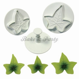 Plunger - PME  Veined Ivy Leaf Set XL (3 stuks)