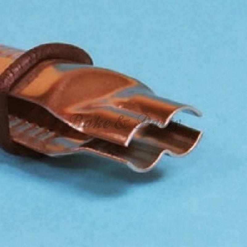 PME - Scallop Open Plain Edge Crimper 1/2