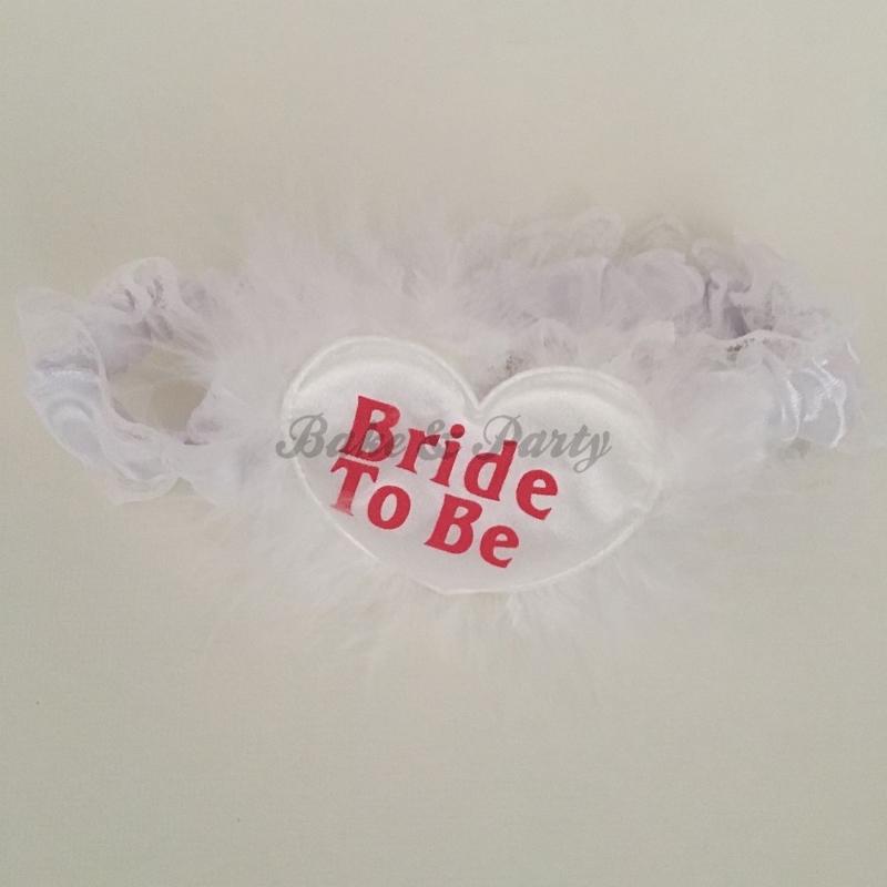 "Kousenband ""Bride To Be"""