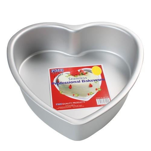 PME - Deep Heart Cake Pan 30 x 7,5 cm