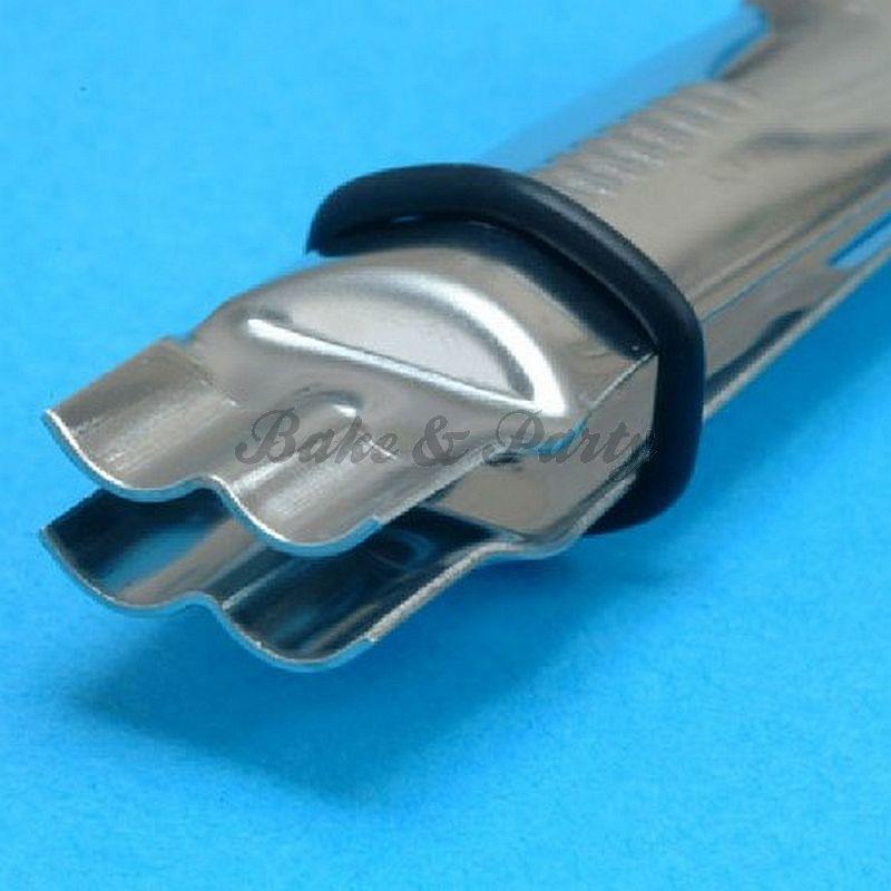 PME - Scallop Closed Plain Edge Crimper 1/2