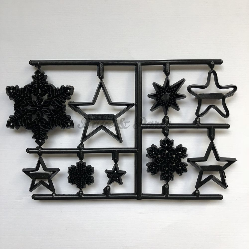 Patchwork Cutters - Snowflakes & Stars